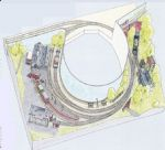 Peco Setrack OO Plan 8 St Ives Branch Terminus - An End-to-End Layout in a Circular Format